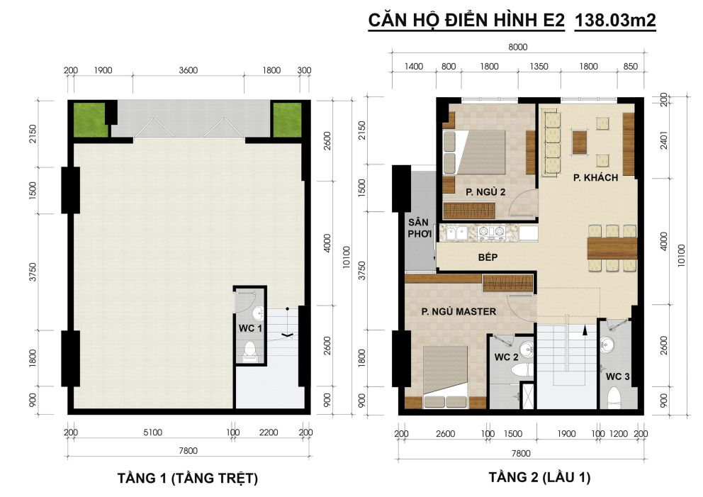 mat-bang-shop-house-green-river-quan-8-dt-138m2